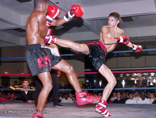 Sport de combat qu'avec les pieds