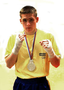 <p>Christopher REBRASSE <br>Vice-champion du monde Junior 2002 de full-contact <br>(Montenegro - Septembre 2002)</p>