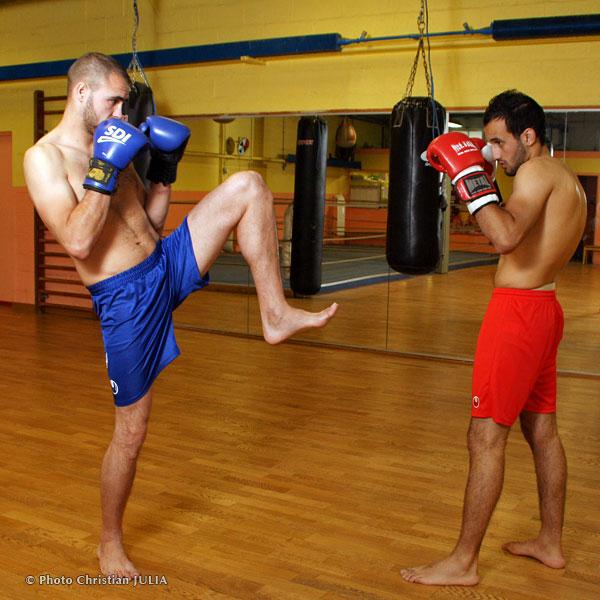 mouvements boxe française